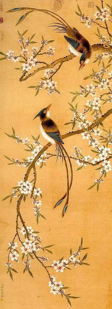 国画中的春天,太美了!