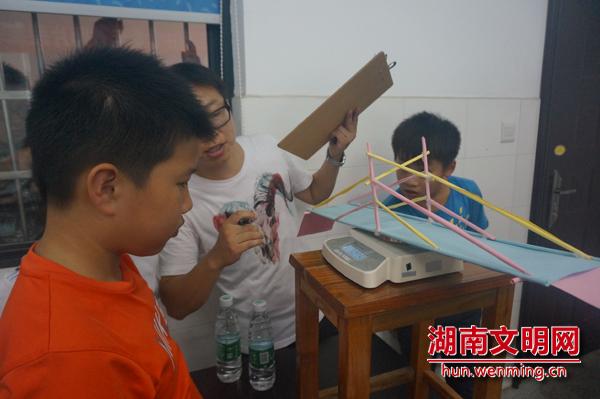纸质桥梁模型制作