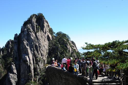 黄山风景区:文明出行提升旅游品质-山东文明网-齐鲁